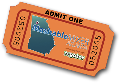 atlanta mashable mixer ticket